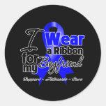Boyfriend - Colon Cancer Ribbon Stickers