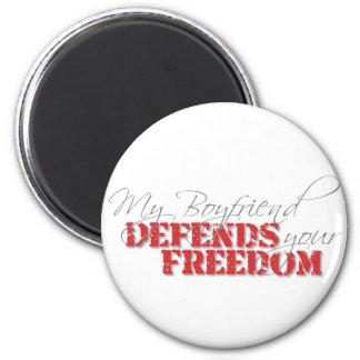 Boyfriend Defends Freedom Magnet