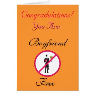 BOYFRIEND FREE CARD