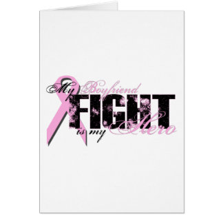 Boyfriend Hero - Fight Breast Cancer Card