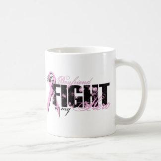 Boyfriend Hero - Fight Breast Cancer Classic White Coffee Mug