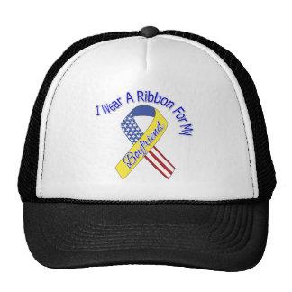 Boyfriend - I Wear A Ribbon Military Patriotic Trucker Hat