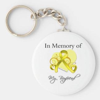Boyfriend - In Memory of Military Tribute Keychain