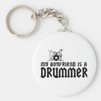 Boyfriend is a Drummer Keychain