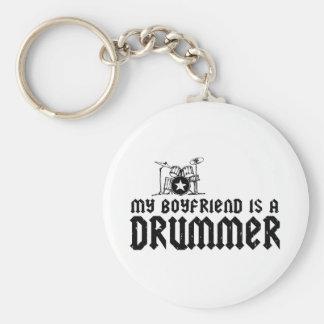 Boyfriend is a Drummer Keychain