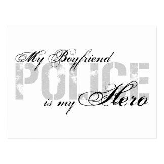 Boyfriend Is My Hero - POLICE Postcard