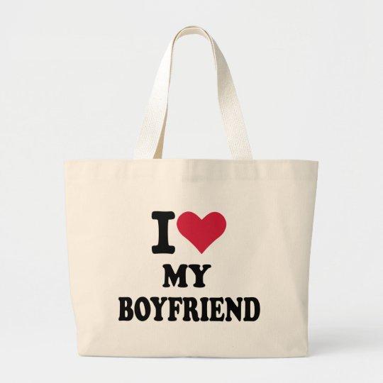Boyfriend Large Tote Bag
