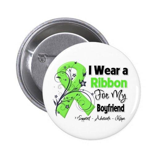 Boyfriend - Lymphoma Ribbon Buttons