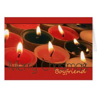 boyfriend Merry Christmas card