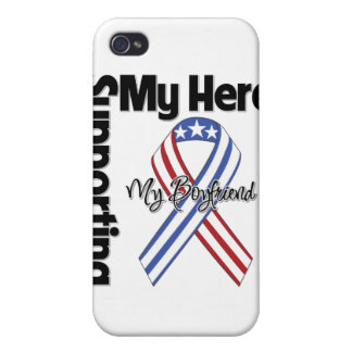 Boyfriend - Military Supporting My Hero iPhone 4/4S Cover