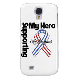 Boyfriend - Military Supporting My Hero Samsung Galaxy S4 Cover