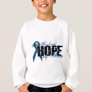 Boyfriend My Hero - Colon Cancer Hope Sweatshirt
