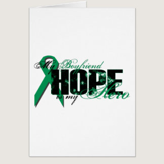 Boyfriend My Hero - Kidney Cancer Hope Card