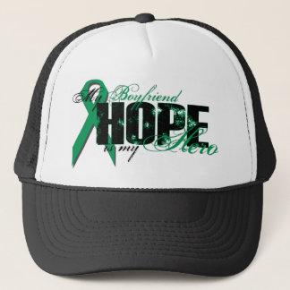Boyfriend My Hero - Kidney Cancer Hope Trucker Hat