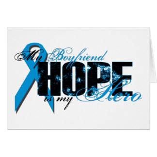 Boyfriend My Hero - Prostate Hope Greeting Card