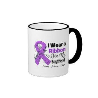 Boyfriend - Pancreatic Cancer Ribbon Coffee Mug