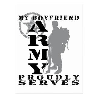 Boyfriend Proudly Serves - ARMY Postcard