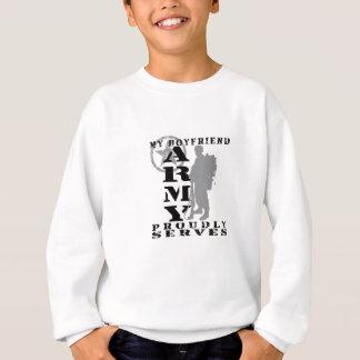 Boyfriend Proudly Serves - ARMY Sweatshirt