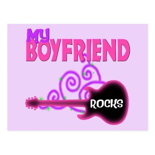 boyfriend rocks postcard