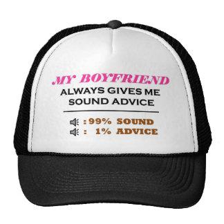 Boyfriend Sound Advice Full Trucker Hat