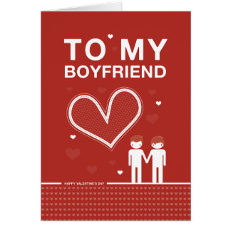 boyfriend valentines day card