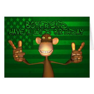 Boyfriend Wild Birthday Stars And Stripes, Green Card