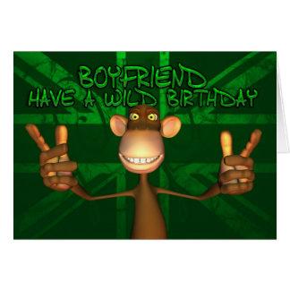 Boyfriend Wild Birthday Union Jack, Green Card