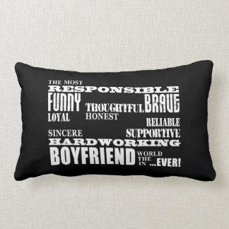 Boyfriends Best & Greatest Boyfriend : Qualities Lumbar Pillow