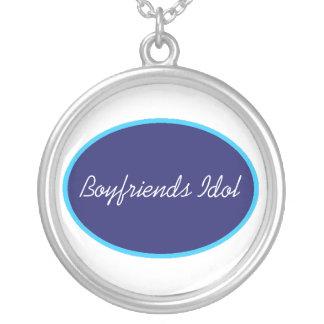 Boyfriends Idol Silver Plated Necklace