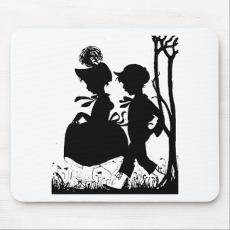 BoyGirl1 Mouse Pad