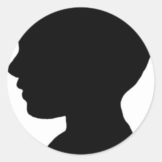 Boyhead Classic Round Sticker
