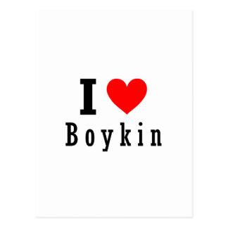 Boykin, Alabama City Design Postcard