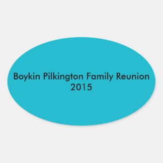 Boykin Pilkington Family Reunion 2015 Stickers