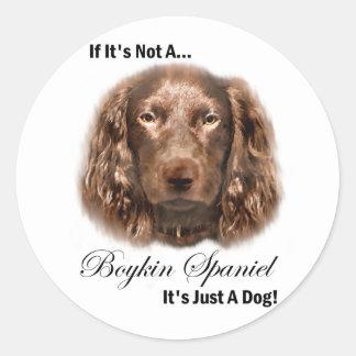 Boykin Spaniel Art Gifts Stickers