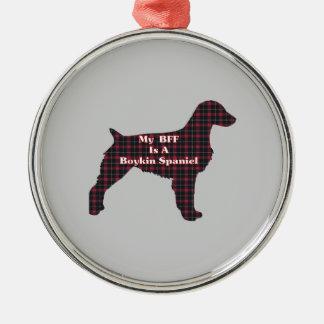 Boykin Spaniel BFF Metal Ornament