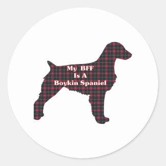 Boykin Spaniel BFF Sticker