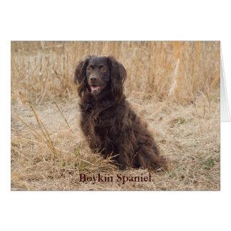 Boykin Spaniel Card