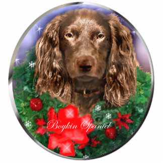 Boykin Spaniel Christmas Gifts Ornament