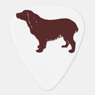 Boykin Spaniel color silhouette Guitar Pick