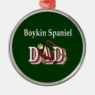 Boykin Spaniel Dad Metal Ornament