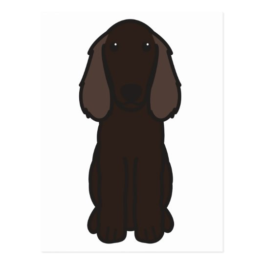 Boykin Spaniel Dog Cartoon Postcard