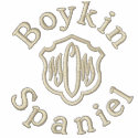 Boykin, Spaniel Mom Gifts embroidered shirt