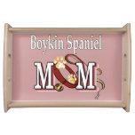 Boykin Spaniel Mom Service Trays