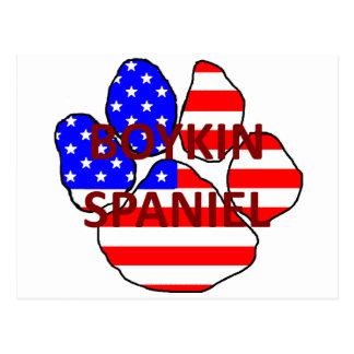 boykin spaniel name usa-flag paw.png postcard