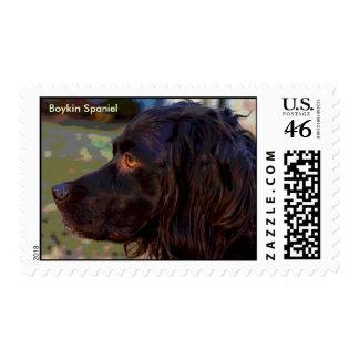 Boykin Spaniel Photo Stamp
