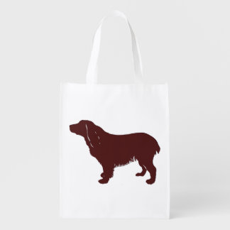 Boykin Spaniel.png Reusable Grocery Bag
