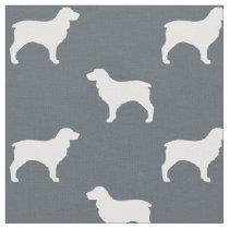 Boykin Spaniel Silhouettes Pattern Fabric