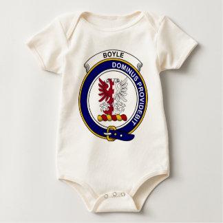 Boyle Clan Badge Baby Bodysuit
