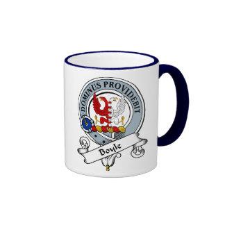 Boyle Clan Badge Ringer Coffee Mug