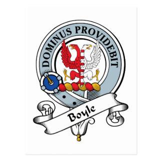 Boyle Clan Badge Postcard